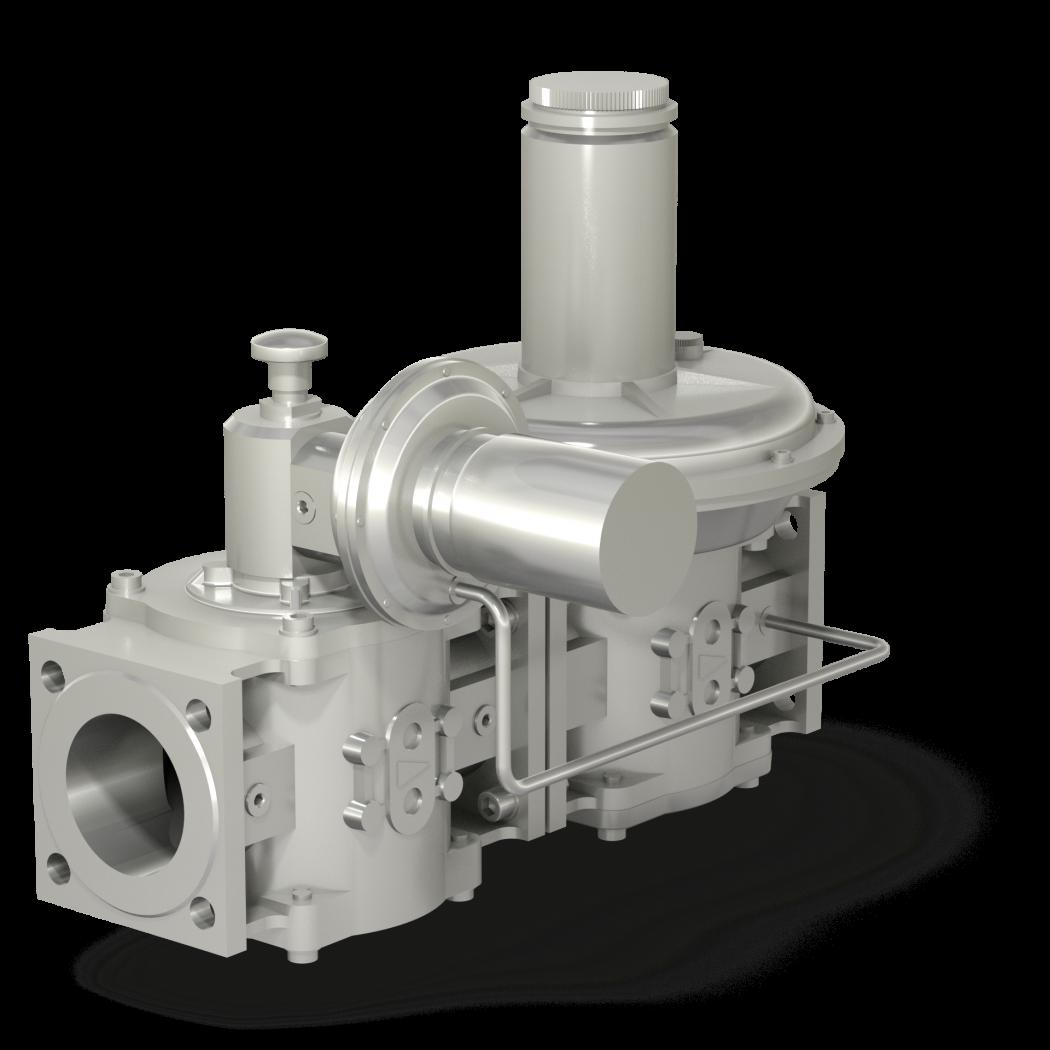 Регуляторы-стабилизаторы давления РС с предохранительно-запорным клапаном (ПЗК)