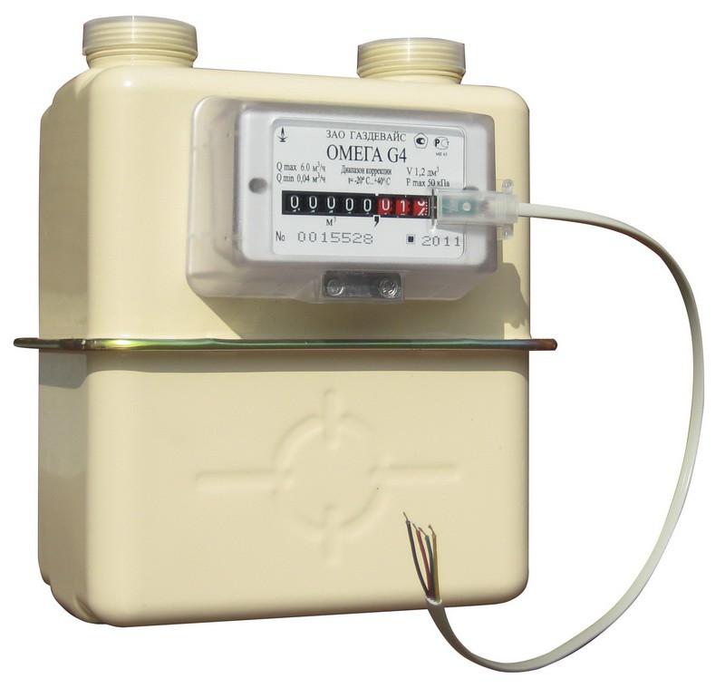 Картинка газовый счетчик